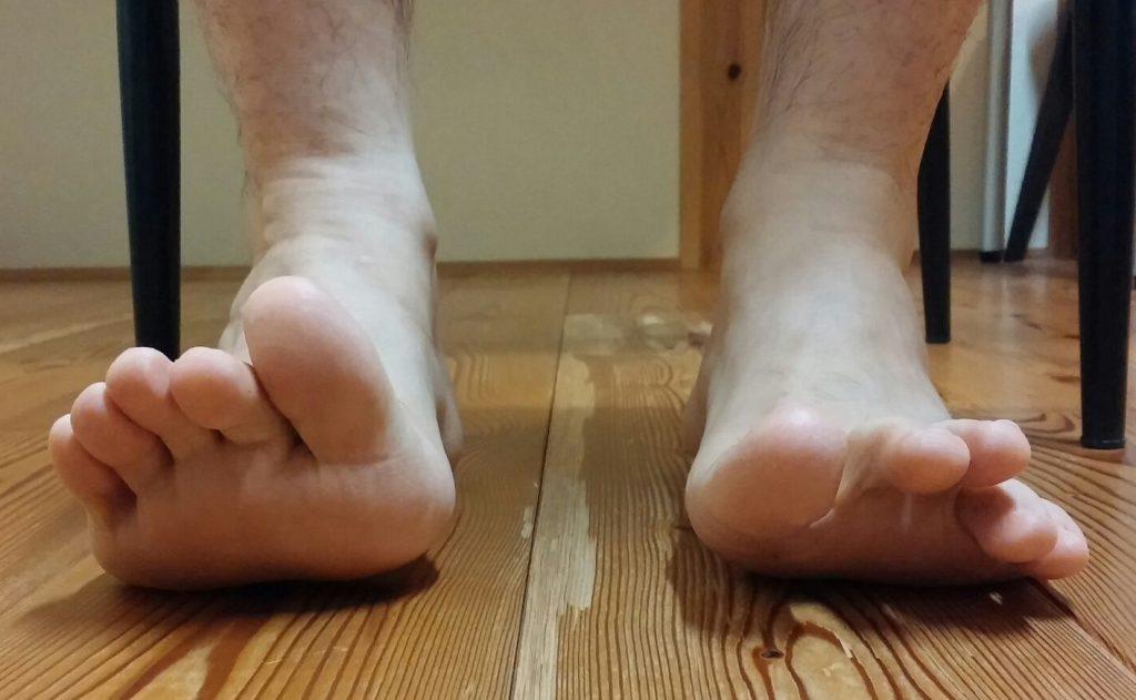 足指の動き